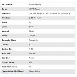 HDP24-18-6PN
