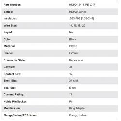 HDP24-24-31PE-L017