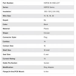 HDP26-18-14SE-L017