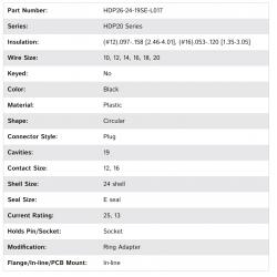 HDP26-24-19SE-L017