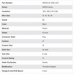 HDP26-24-31SE-L015