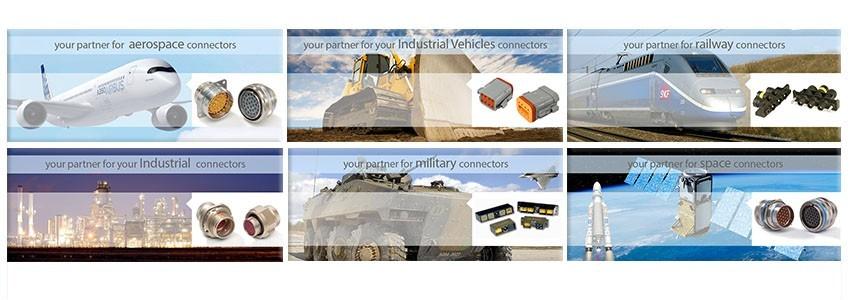 Distributeur Connecteurs Carrier Kheops Bac et  Connecteurs Deutsch